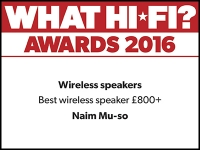 What Hi-Fi? Awards 2016 winner: Naim Mu-so wireless speaker