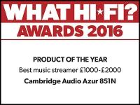 What Hi-Fi? Awards 2016 winner: Cambridge Audio 851N network streamer