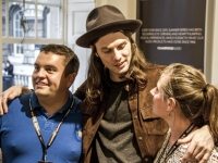 "The Summer Series at Somerset House:<br>James Bay brings ""Chaos and the Calm"""
