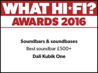 What Hi-Fi? Awards 2016 winner: DALI KUBIK ONE TV soundbar