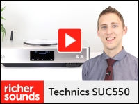Video: Technics SUC550