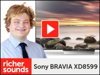 Product video: Sony BRAVIA XD8599 – 4K HDR TV range