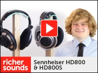 Product video: Sennheiser HD800 / HD800S headphones