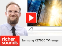 Product video: Samsung KS7000 TV range