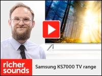 Product video: Samsung KS7000 TV range