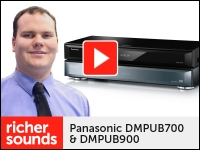 Product video: Panasonic DMPUB700 & DMPUB900 4K Blu-ray players