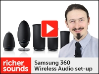 Product video: Samsung 360 Audio set-up options