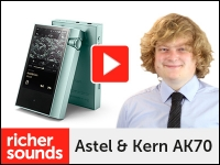 Product video: Astel & Kern AK70 portable Hi-Res Audio player