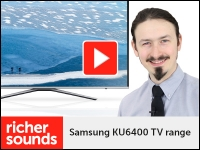 Product video: Samsung KU6400 4K HDR TV range