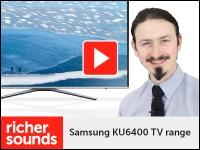 Product video: Samsung KU6400 4K HDR TV range