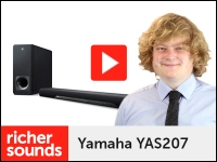 Product video: Yamaha YAS207 TV soundbar
