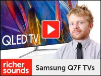 Product video: Samsung QLED Q7F TV range