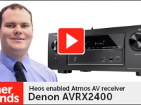 Product video: Denon AVRX2400 AV receiver