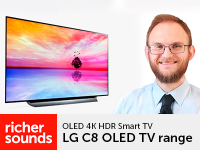 Product video: LG C8 OLED TV range