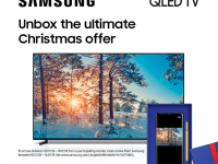QLED TVs and complimentary Galaxy smartphones – the ultimate Christmas offer!