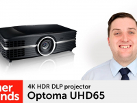 Product video: Optoma UHD65 projector