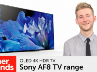 Product video: Sony AF8 OLED 4K HDR TVs