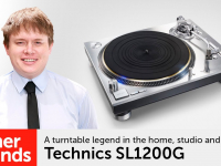 Product video: Technics SL1200G direct-drive turntable