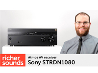 Product video: Sony STRDN1080 Atmos AV receiver