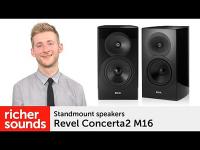 Product video: Revel Concerta2 M16 speakers