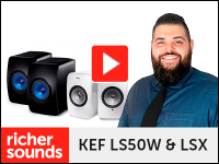 Product video: KEF LS50 and LSX wireless system speakers