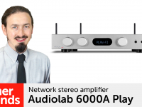 Product video: Audiolab 6000A Play network stereo amplifier
