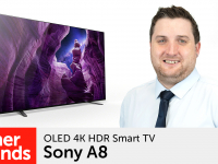 Product video: Sony A8 OLED 4K HDR Smart TV range