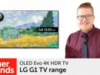 Product video: LG G1 – OLED Evo 4K HDR TV