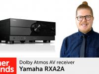 Product video: Yamaha RXA2A – Dolby Atmos AV receiver
