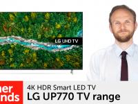 Product video: LG UP770 – 4K HDR Smart LED TV range